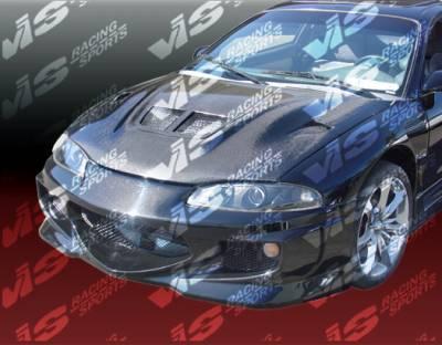 Eclipse - Front Bumper - VIS Racing - Mitsubishi Eclipse VIS Racing GT Bomber Front Bumper - 97MTECL2DGB-001