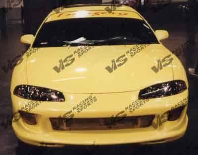 Eclipse - Front Bumper - VIS Racing - Mitsubishi Eclipse VIS Racing Kombat Front Bumper - 97MTECL2DKOM-001
