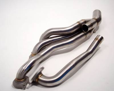 Agency Power - Mercedes-Benz C Class Agency Power Catless Headers & Section 1 Mid-Pipes - AP-C63-175 - Image 3
