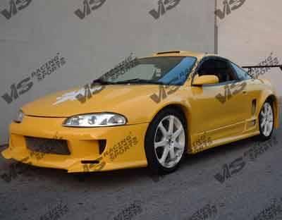 Eclipse - Front Bumper - VIS Racing - Mitsubishi Eclipse VIS Racing Strada F1 Front Bumper - 97MTECL2DSF1-001