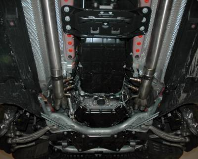 Agency Power - Mercedes-Benz C Class Agency Power Catless Headers & Section 1 Mid-Pipes - AP-C63-175 - Image 5