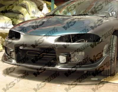 Eclipse - Front Bumper - VIS Racing - Mitsubishi Eclipse VIS Racing Tracer-2 Front Bumper - 97MTECL2DTRA2-001