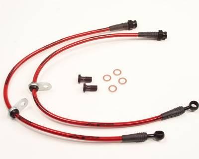 Agency Power - Chevrolet Camaro Agency Power Steel Braided Brake Lines - Rear - AP-CA10-410 - Image 1