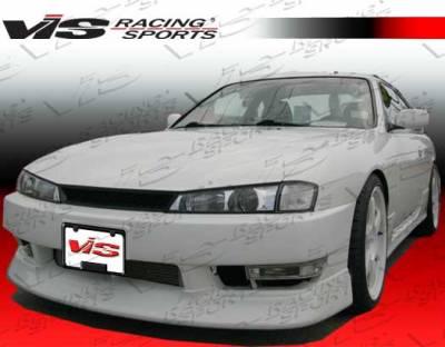 240SX - Front Bumper - VIS Racing - Nissan 240SX VIS Racing Kouki Front Lip - 97NS2402DJKOK-011