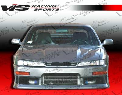 240SX - Front Bumper - VIS Racing - Nissan 240SX VIS Racing M-Speed Front Bumper - 97NS2402DMSP-001