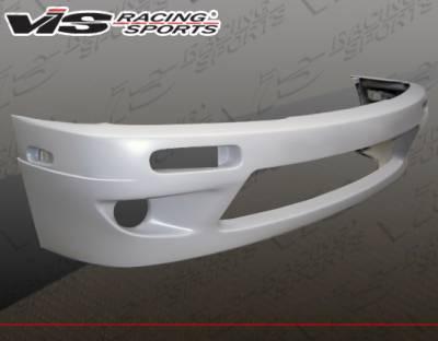 240SX - Front Bumper - VIS Racing - Nissan 240SX VIS Racing Quad Six Front Bumper - 97NS2402DQS-001