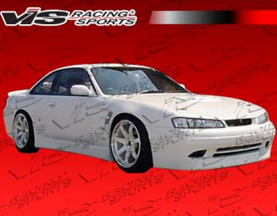 240SX - Front Bumper - VIS Racing - Nissan 240SX VIS Racing Super Front Bumper - 97NS2402DSUP-001
