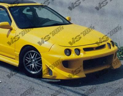 Integra 2Dr - Front Bumper - VIS Racing - Acura Integra VIS Racing Battle Z Front Bumper - 98ACINT2DBZ-001
