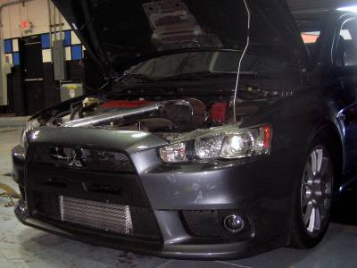 Agency Power - Mitsubishi Lancer Agency Power Aluminum Front Mount Intercooler - AP-CZ4A-108 - Image 4