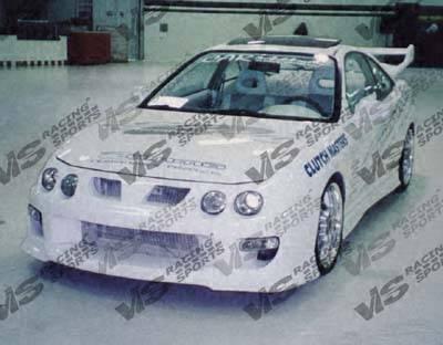 Integra 2Dr - Front Bumper - VIS Racing - Acura Integra 2DR VIS Racing Strada F1 Front Bumper - 98ACINT2DSF1-001