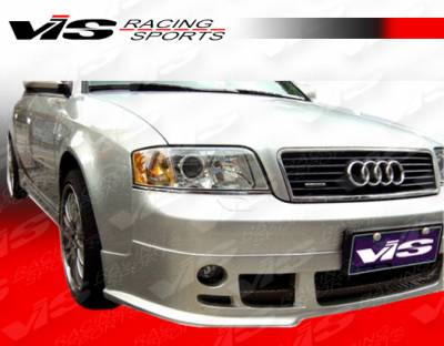 A6 - Front Bumper - VIS Racing - Audi A6 VIS Racing A-Tech Front Lip - 98AUA64DATH-011