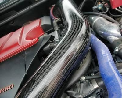 Agency Power - Mitsubishi Lancer Agency Power Carbon Fiber Intercooler Pipe - AP-CZ4A-174C-3 - Image 2