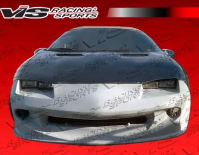 Camaro - Front Bumper - VIS Racing - Chevrolet Camaro VIS Racing Sniper Front Bumper - 98CHCAM2DSNI-001