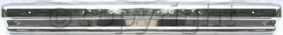 Factory OEM Auto Parts - Original OEM Bumpers - Custom - REAR BUMPER CHROME