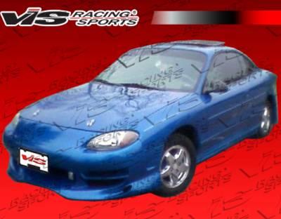 ZX2 - Front Bumper - VIS Racing - Ford ZX2 VIS Racing Ballistix Front Bumper - 98FDZX22DBX-001