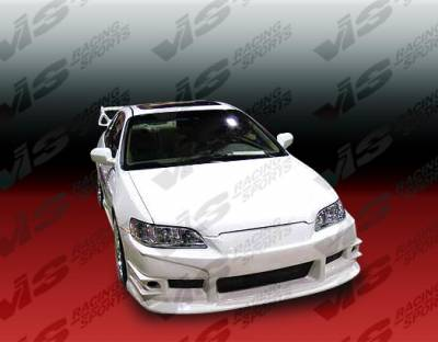 Accord 2Dr - Front Bumper - VIS Racing - Honda Accord 2DR & 4DR VIS Racing Cyber-2 Front Bumper - 98HDACC2DCY2-001