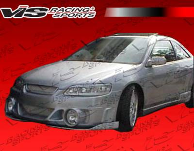 Accord 2Dr - Front Bumper - VIS Racing - Honda Accord 2DR VIS Racing EVO-2(foglight holes) Front Bumper - 98HDACC2DEVO2-001