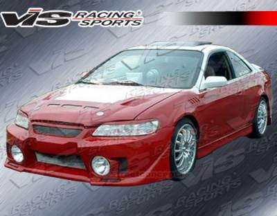 Accord 2Dr - Front Bumper - VIS Racing - Honda Accord 2DR VIS Racing EVO-5 Front Bumper - 98HDACC2DEVO5-001