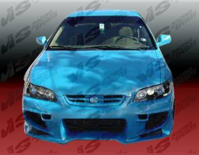 Accord 2Dr - Front Bumper - VIS Racing - Honda Accord 2DR VIS Racing Invader Front Bumper - 98HDACC2DINV-001
