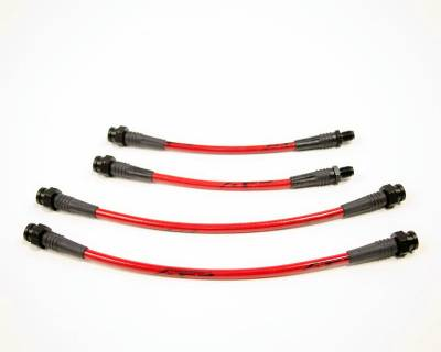 Brakes - Brake Lines - Agency Power - Mitsubishi Eclipse Agency Power Steel Braided Brake Lines - Rear - AP-DSM1GA-410