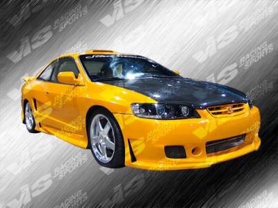 Accord 2Dr - Front Bumper - VIS Racing - Honda Accord 2DR VIS Racing TSC-3 Front Bumper - 98HDACC2DTSC3-001