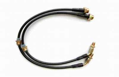 Brakes - Brake Lines - Agency Power - Mitsubishi Eclipse Agency Power Steel Braided Brake Lines - Front - AP-DSM2GA-405