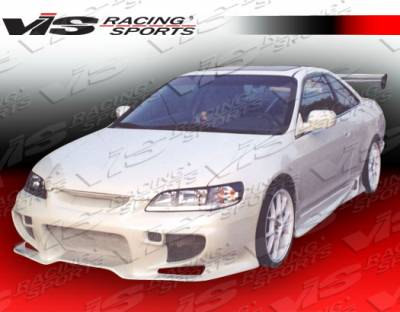 Accord 4Dr - Front Bumper - VIS Racing - Honda Accord 4DR VIS Racing Invader Front Bumper - 98HDACC4DINV-001