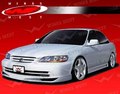 Accord 4Dr - Front Bumper - VIS Racing - Honda Accord 4DR VIS Racing JPC Front Lip - Polyurethane - 98HDACC4DJPC-011P