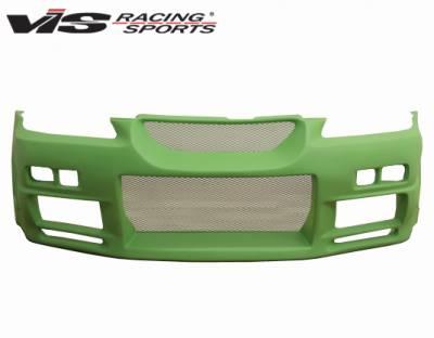 Accord 4Dr - Front Bumper - VIS Racing - Honda Accord 4DR VIS Racing R34 Front Bumper - 98HDACC4DR34-001