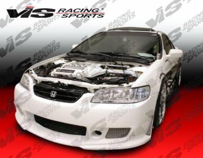 Accord 4Dr - Front Bumper - VIS Racing - Honda Accord 4DR VIS Racing TSC-3 Front Bumper - 98HDACC4DTSC3-001