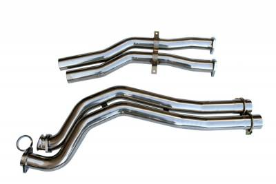 Agency Power - BMW 3 Series Agency Power Section 2 Mid-Pipes - AP-E46M3-172 - Image 1