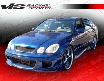 GS - Front Bumper - VIS Racing - Lexus GS VIS Racing Cyber-1 Front Bumper - 98LXGS34DCY1-001