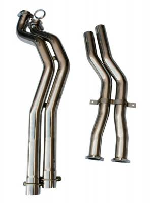 Agency Power - BMW 3 Series Agency Power Section 2 Mid-Pipes - AP-E46M3-172 - Image 2