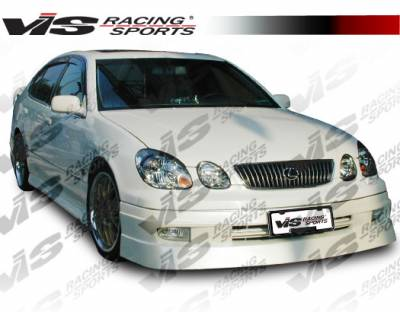 GS - Front Bumper - VIS Racing - Lexus GS VIS Racing VIP Front Lip - 98LXGS34DVIP-011