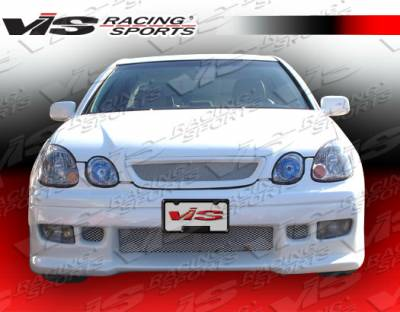 GS - Front Bumper - VIS Racing - Lexus GS VIS Racing Z1 boxer Front Bumper - 98LXGS34DZ1-001