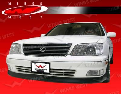 LS400 - Front Bumper - VIS Racing - Lexus LS400 VIS Racing JPC Front Lip - Polyurethane - 98LXLS44DJPC-011P