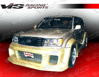 LX - Front Bumper - VIS Racing. - Lexus LX VIS Racing Outcast Front Bumper - 98LXLX44DOC-001