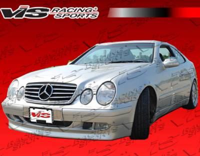 CLK - Front Bumper - VIS Racing - Mercedes-Benz CLK VIS Racing B-Spec Front Lip - 98MEW2082DBSC-011