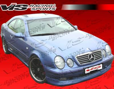 CLK - Front Bumper - VIS Racing - Mercedes-Benz CLK VIS Racing C Tech Front Lip - 98MEW2082DCTH-011
