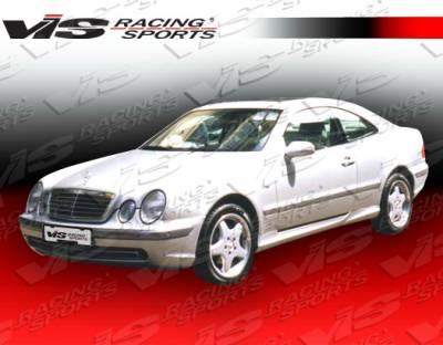 CLK - Front Bumper - VIS Racing - Mercedes-Benz CLK VIS Racing Euro Tech Front Bumper - 98MEW2082DET-001