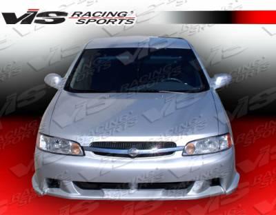 Altima - Front Bumper - VIS Racing - Nissan Altima VIS Racing Xtreme Front Bumper - 98NSALT4DEX-001