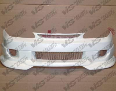 Corolla - Front Bumper - VIS Racing. - Toyota Corolla VIS Racing Strada F2 Front Bumper - 98TYCOR4DSF2-001