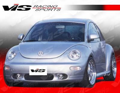 Beetle - Front Bumper - VIS Racing - Volkswagen Beetle VIS Racing C Tech Front Lip - 98VWBEE2DCTH-011