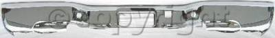 Factory OEM Auto Parts - Original OEM Bumpers - Custom - REAR BUMPER CHROME
