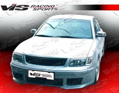 Passat - Front Bumper - VIS Racing - Volkswagen Passat VIS Racing Max Front Bumper - 98VWPAS4DMAX-001