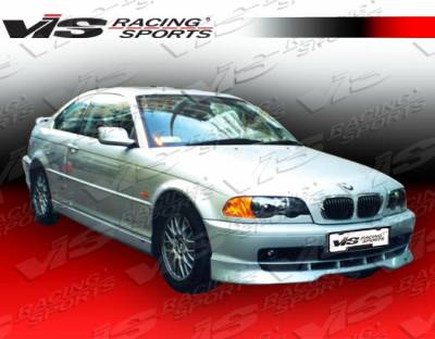 3 Series 4Dr - Front Bumper - VIS Racing - BMW 3 Series VIS Racing A Tech Front Lip - 99BME462DATH-011