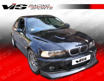 3 Series 4Dr - Front Bumper - VIS Racing - BMW 3 Series VIS Racing Bumper V-Spec Carbon Lip - 99BME462DM3VSC-011C