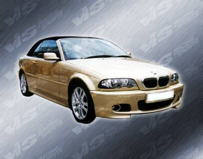 3 Series 2Dr - Front Bumper - VIS Racing - BMW 3 Series 2DR VIS Racing M Tech Front Bumper - 99BME462DMTH-001