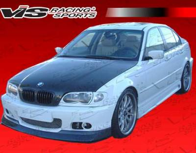 3 Series 4Dr - Front Bumper - VIS Racing - BMW 3 Series VIS Racing M-Tech Carbon Fiber Front Lip - 99BME462DMTH-011C
