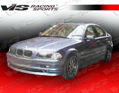 3 Series 4Dr - Front Bumper - VIS Racing - BMW 3 Series 4DR VIS Racing Euro Tech Front Lip - 99BME464DET-011